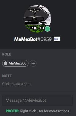 MeMezBot