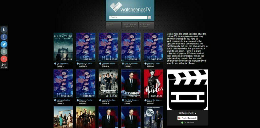 Watch Series TV