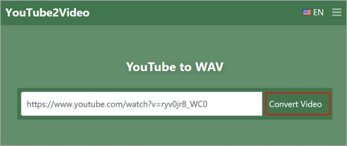 youtube2wav