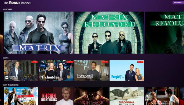 free-movie-download-websites-theroku channel