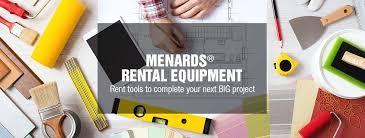 Menards Tool Rental