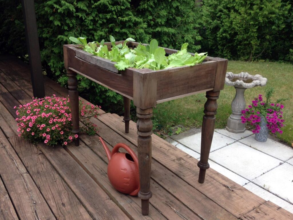 Outdoor Plant Table