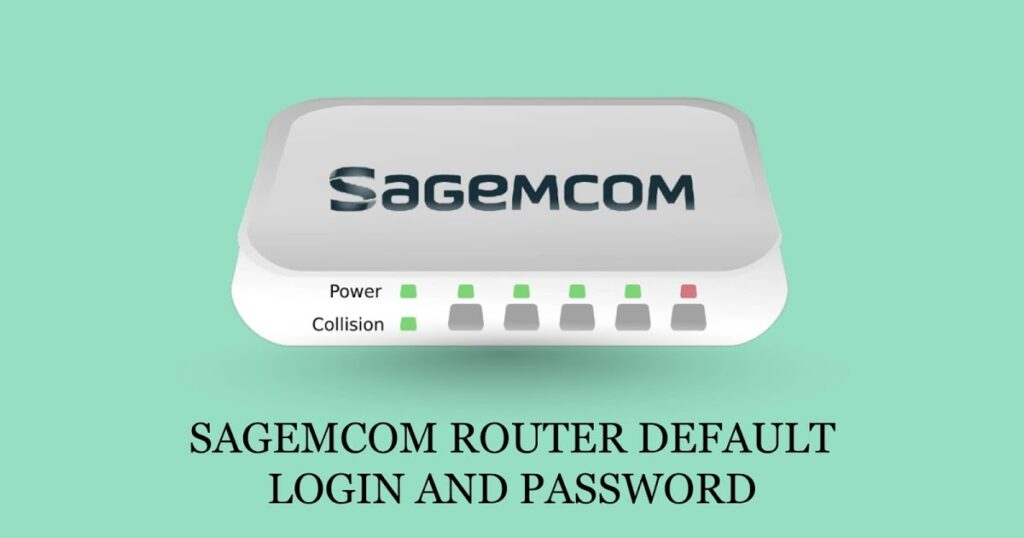 Sagemcom Router Login