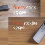 Amazon Launches New Fire TV Stick, Fire TV Stick Lite in India