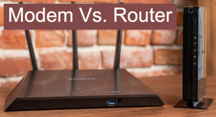 router vs modem