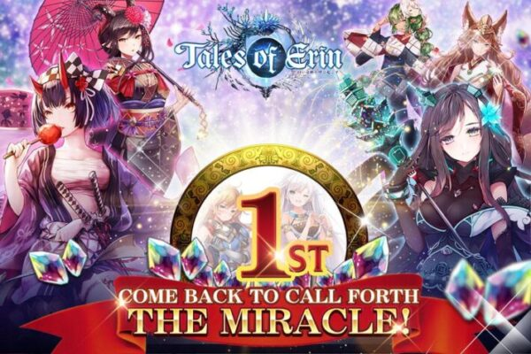 tales of erin - best gacha games