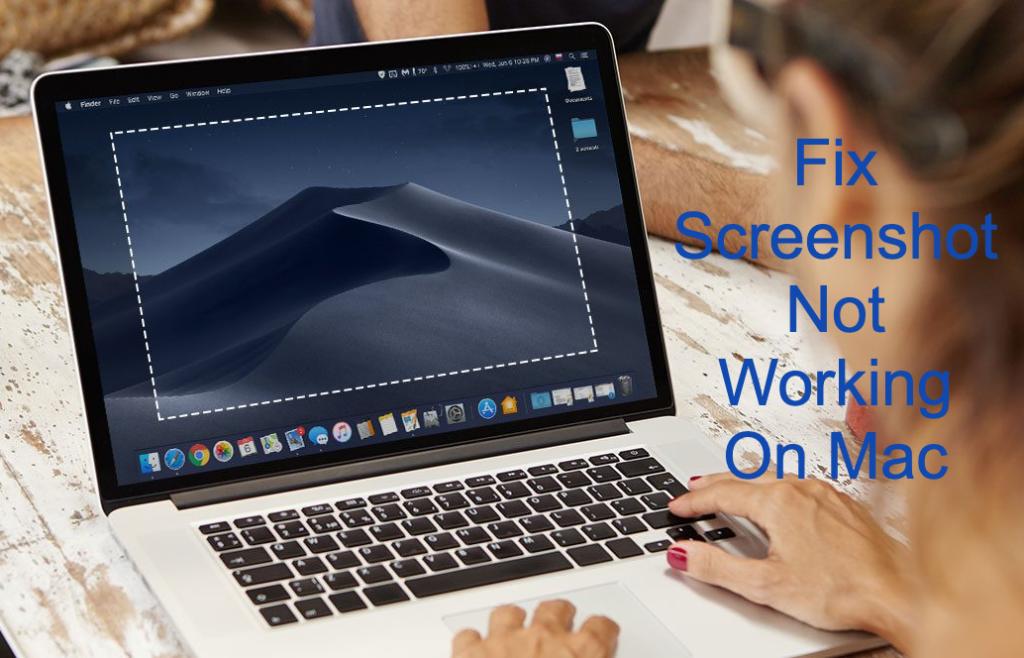 Fix Screenshot Not Working On Mac