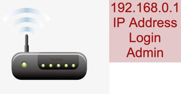 192.168.0.1 IP Address Login Admin