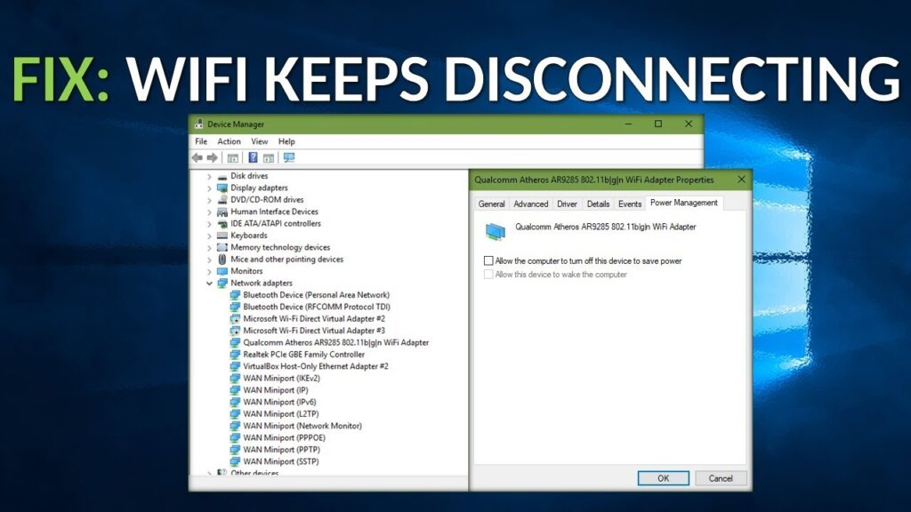 Fix Wi-Fi Keeps Disconnecting